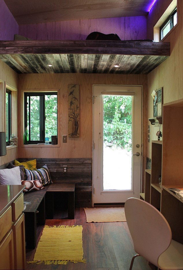 25-year-old Joel Weber Tiny House Interior
