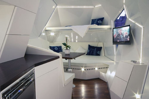 A Futuristic Wonder On wheels Interior