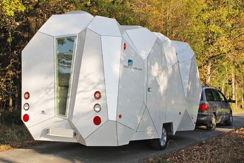 A Futuristic Wonder On wheels