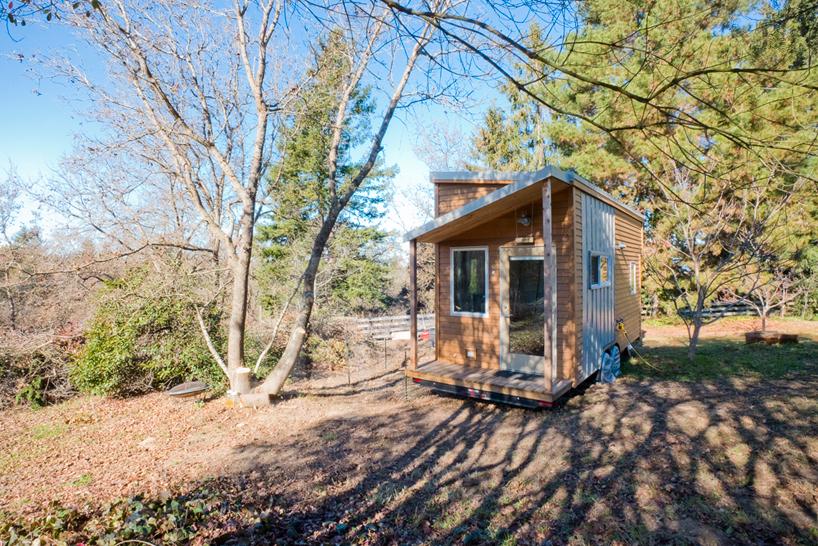 American web designer alek lisefski tiny house on wheels