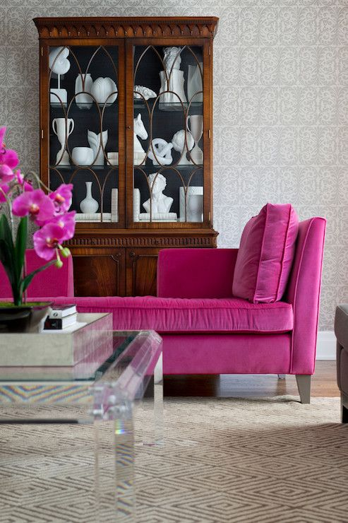 Another Fuchsia couch