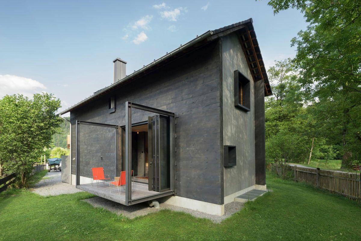 Bavaria retreat exterior terrace