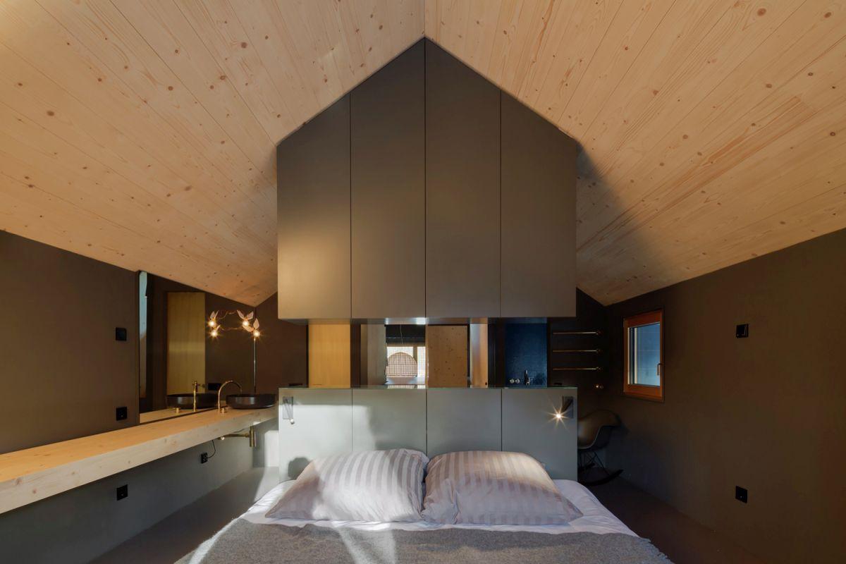 Bavaria retreat sleeping area