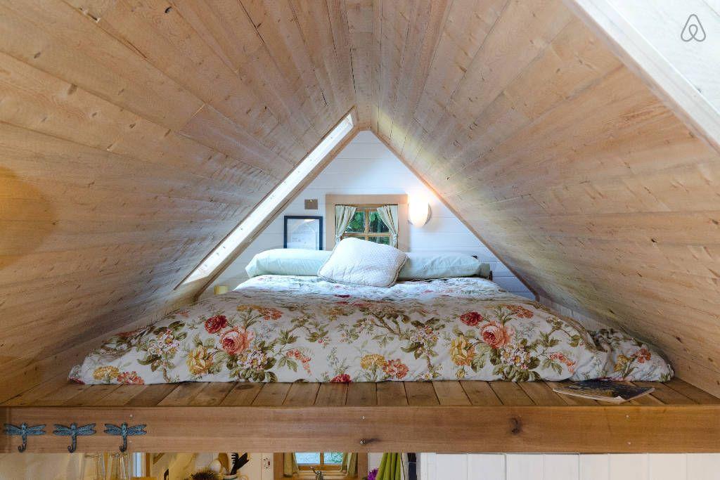 Beachfront Retreat on wheels bedroom