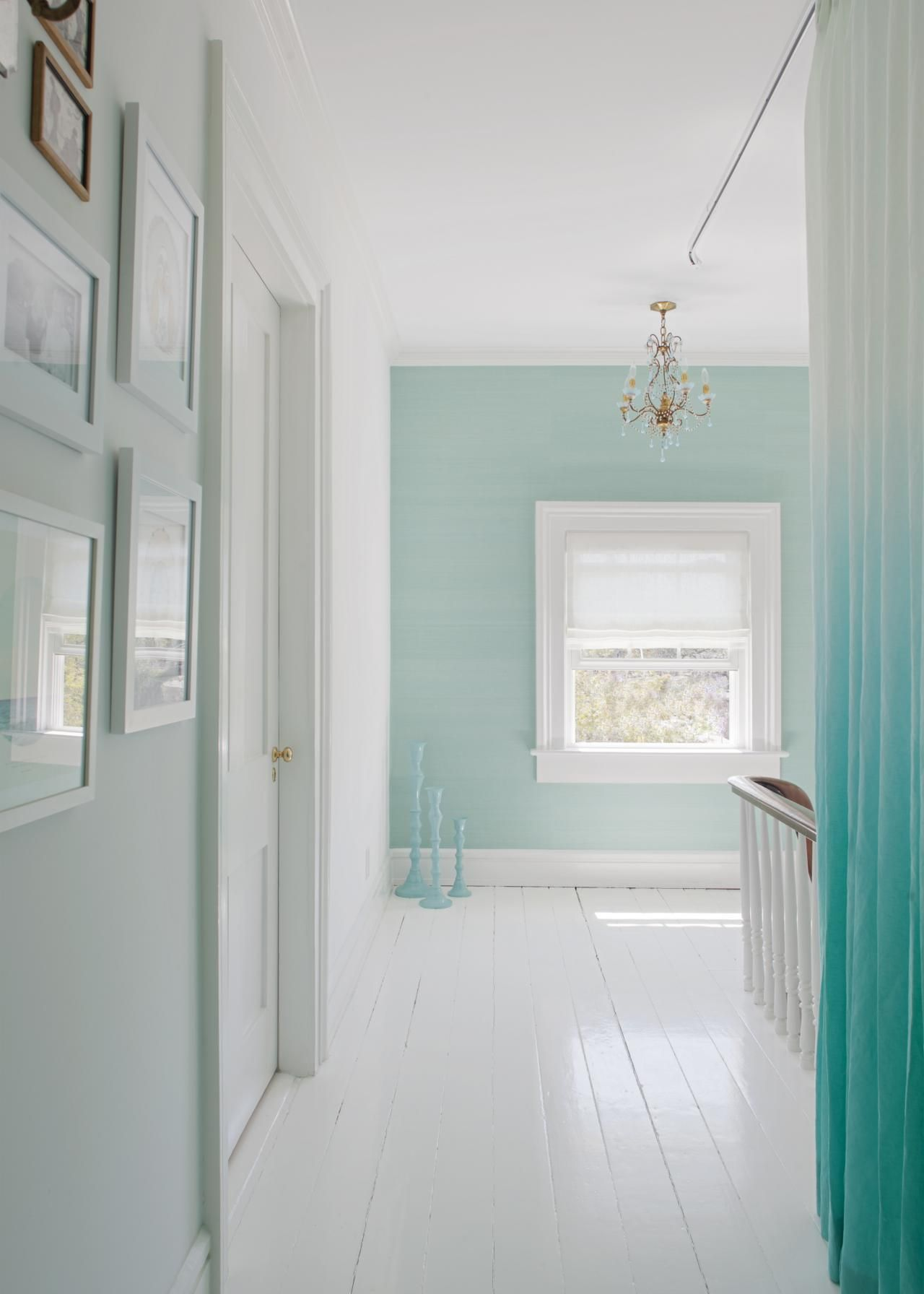 Home decorating colour schemes with aqua.