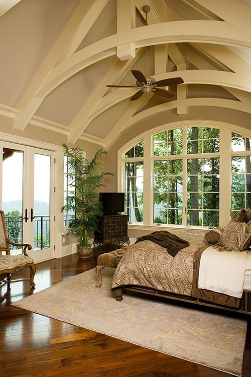 Bedroom Design Ideas Cathedral Ceiling