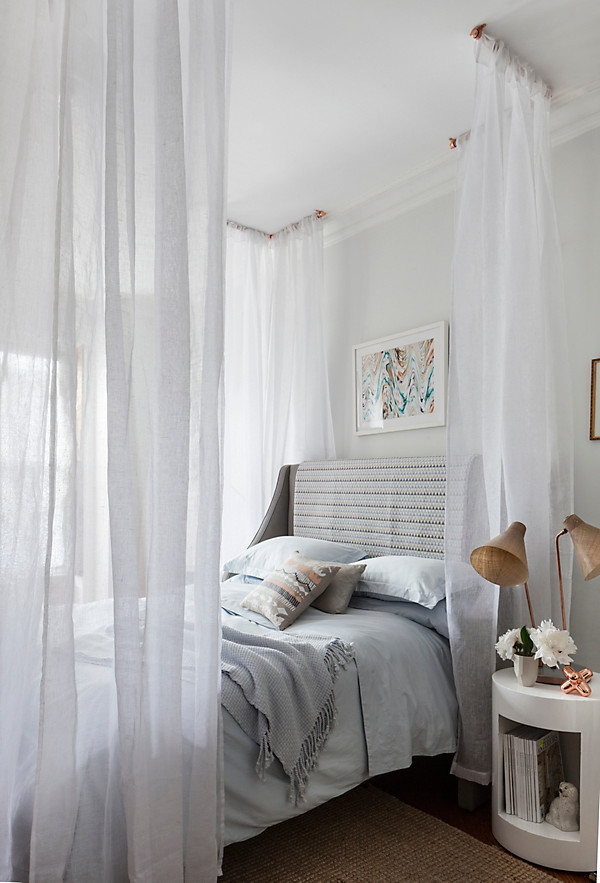 Canopy Bed Diy With Curtains