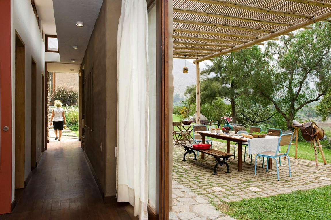 Casa Chontay outdoor areas