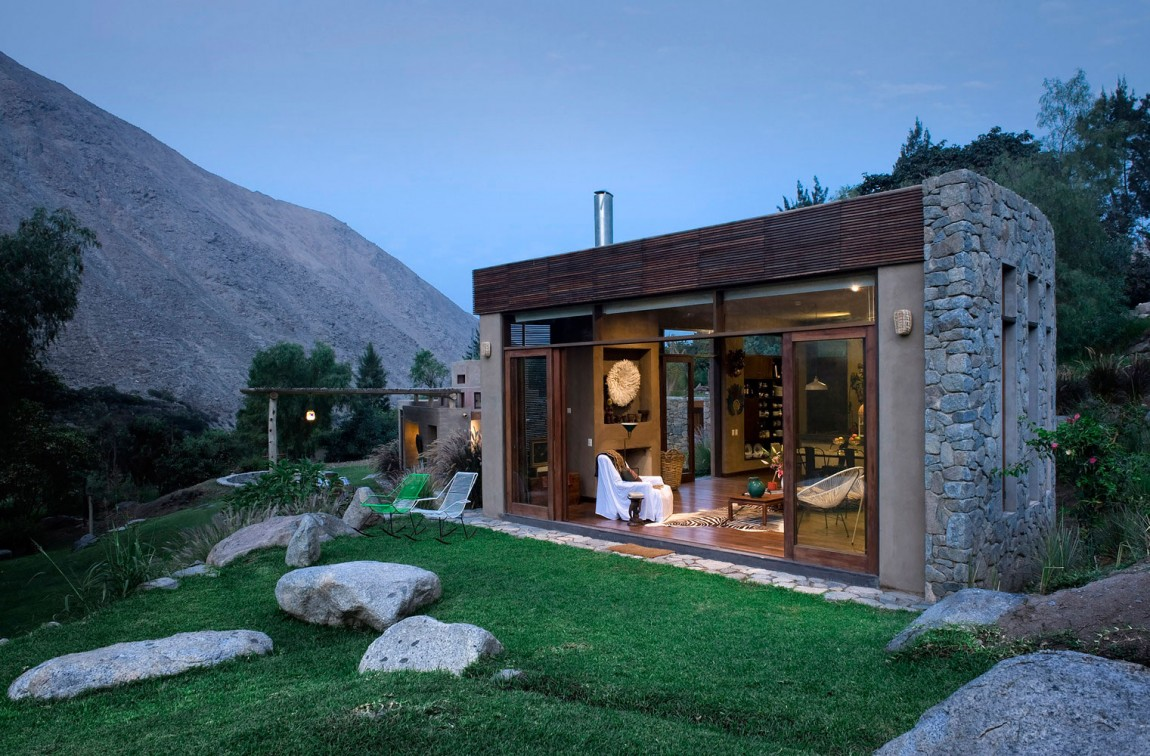 Casa Chontay outdoor social spaces and views