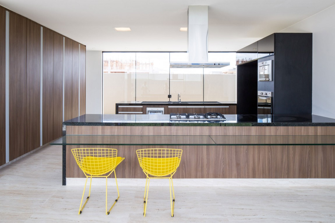 Casa MCO yellow kitchen chairs