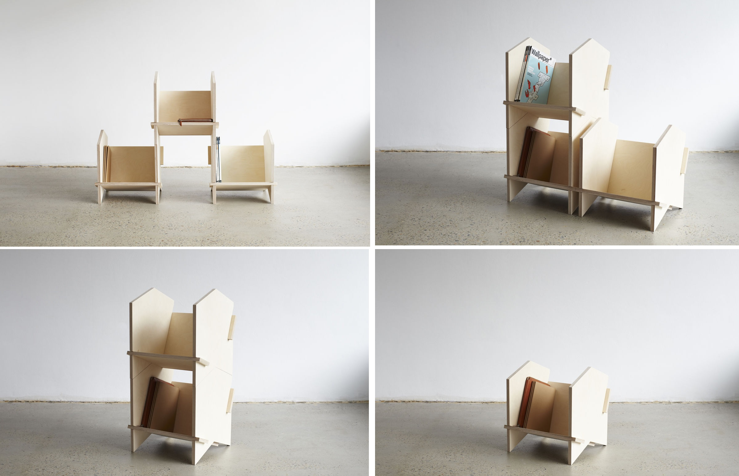 Stackable Furniture Designs That Solve Major Problems By Being