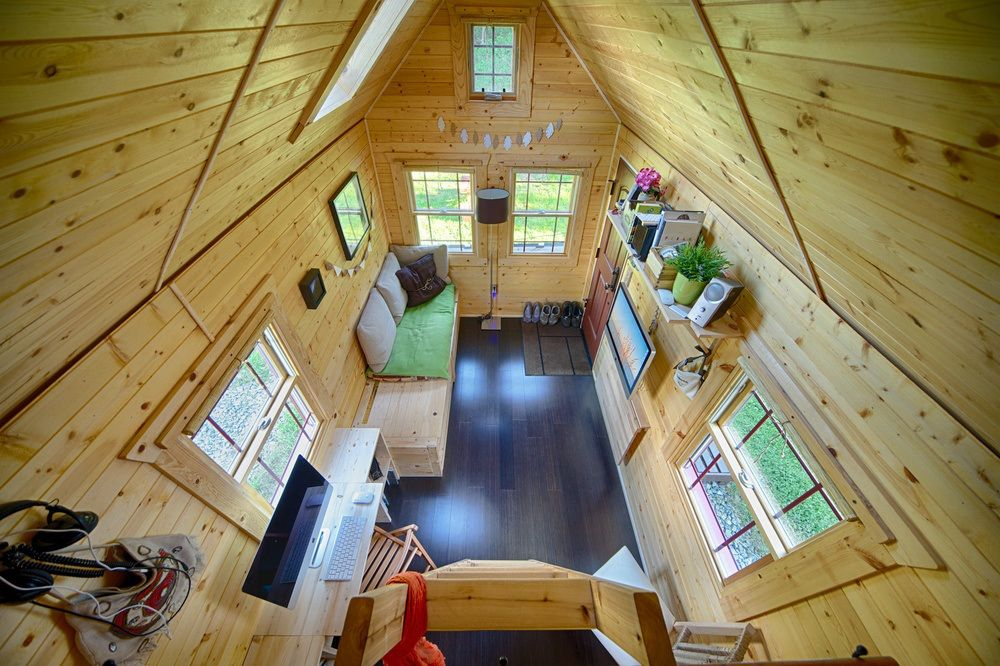 Christopher and Melissa Tack Tiny House on Wheels Interior