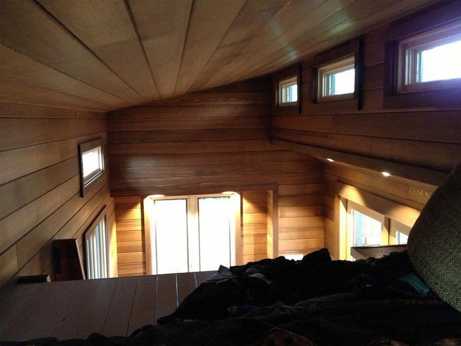 Cider Box on Wheels Bedroom Loft
