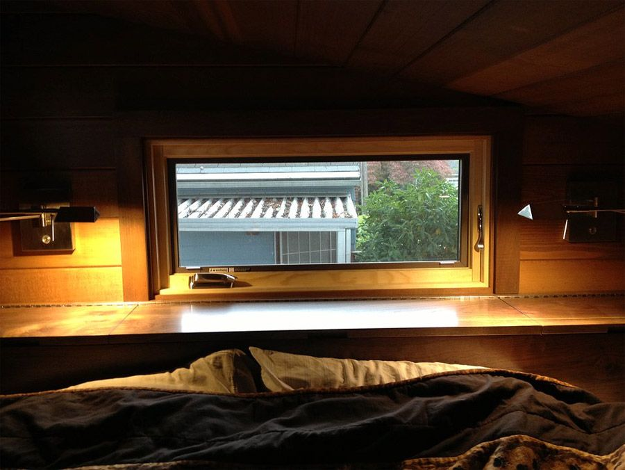 Cider Box on Wheels Bedroom