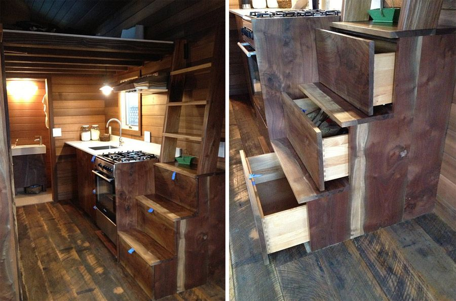 Cider Box on Wheels Drawers
