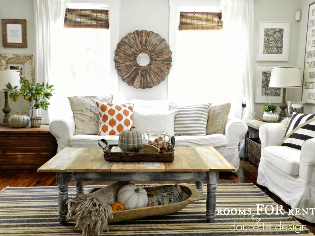 Color rustic for fall