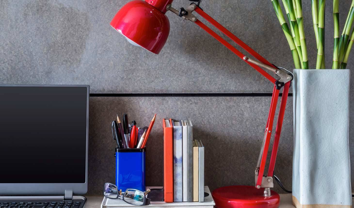 Office Cubicles Should Be Nicely Decorated And Attractive Colorful desk accessories