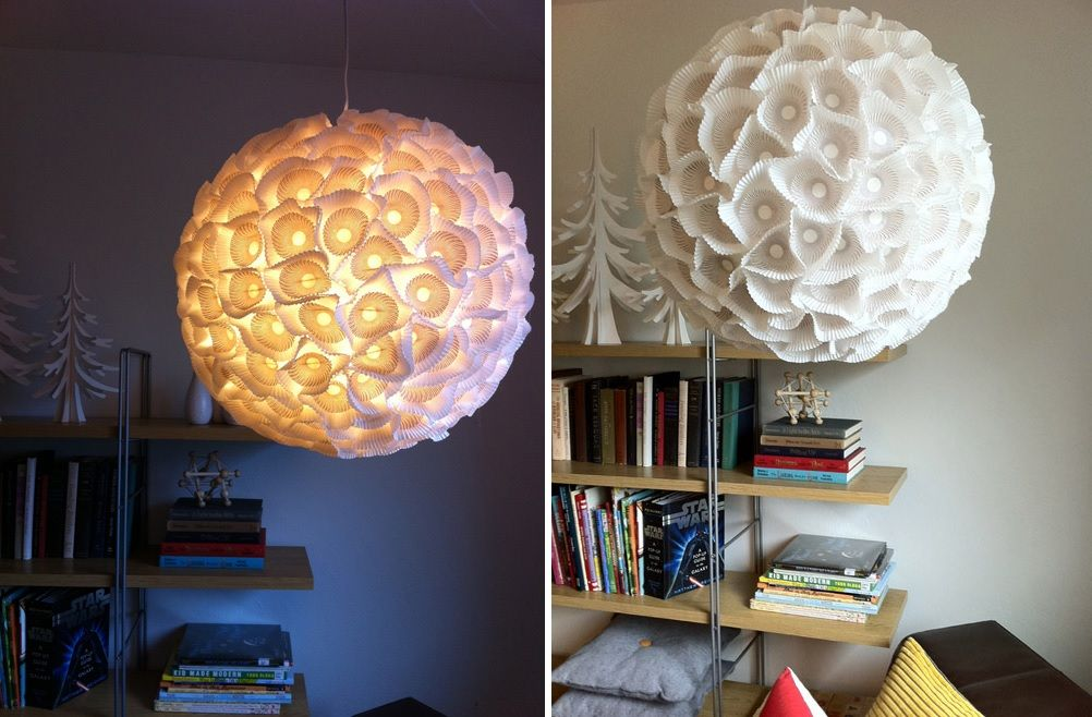Diy chandeliers that will light up your day cupcakes paper chandelier aloadofball Gallery