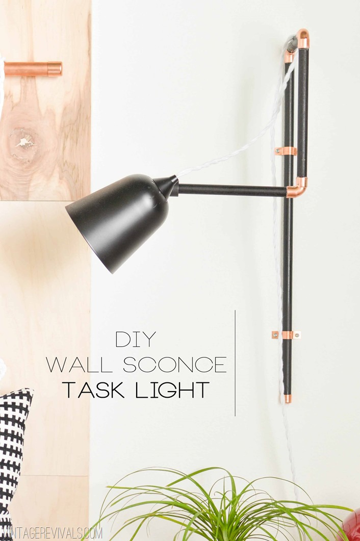 DIY Wall Sconce