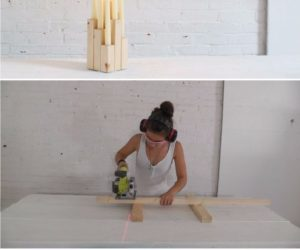 DIY Wood Candelabra: High Style at Low Cost