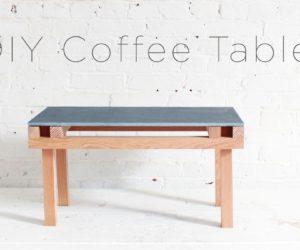 A Speedy and Stylish DIY Coffee Table