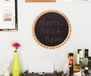 DIY Budget-Friendly Framed Chalkboard Art
