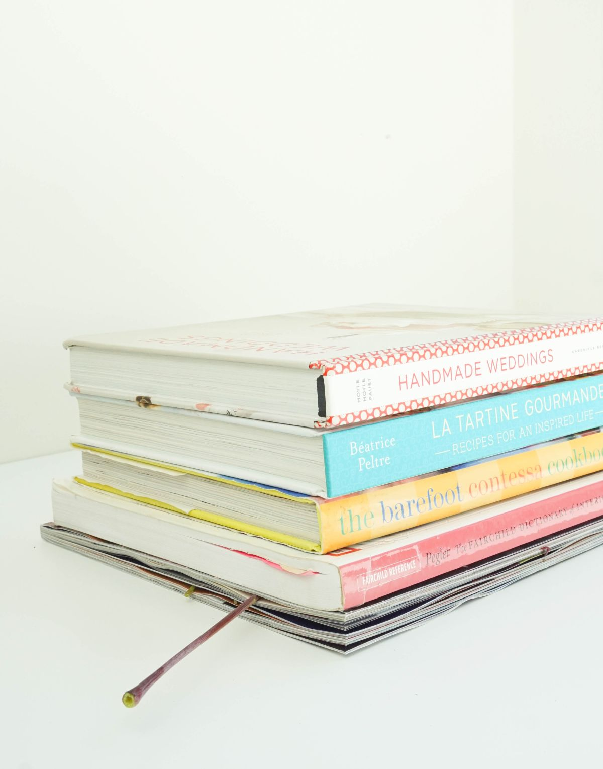Dry under books