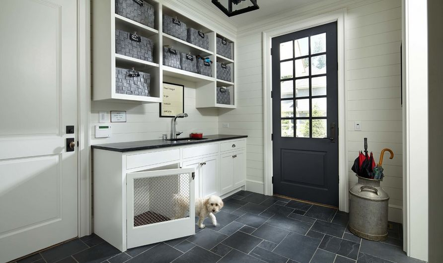 Choosing the best type of flooring for dogs and their owners for Mudroom floor
