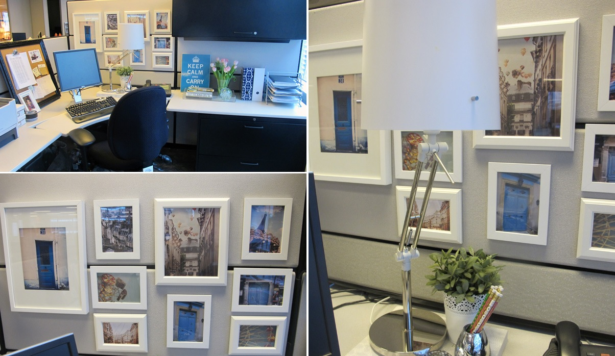 Cubicle Decorating Ideas Theme Part - 21: Framed Art For Cubicle Decor