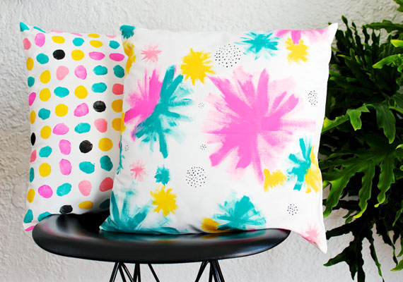 Handpainted Pillows