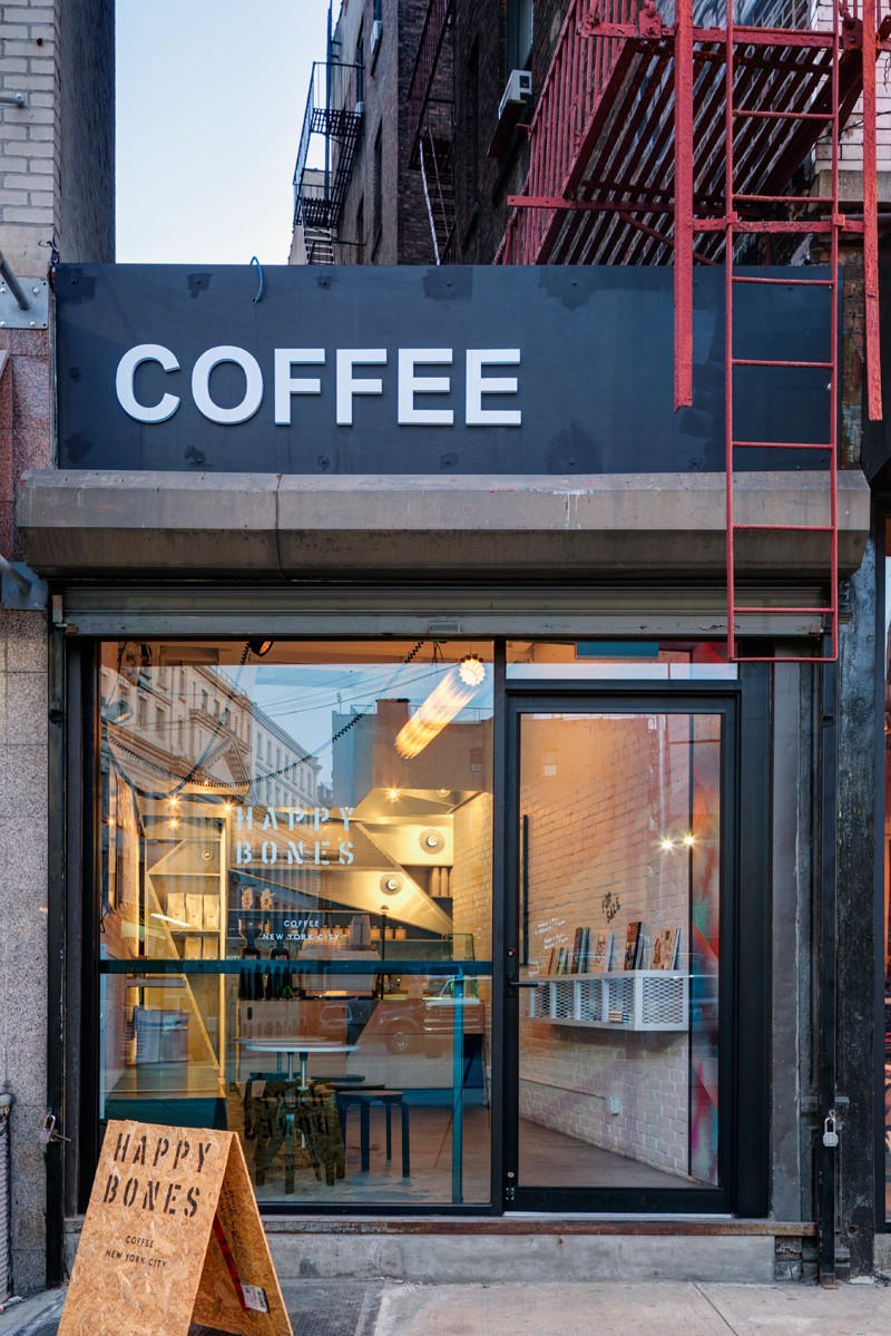 The quirky coffee shop that used to be an alleyway
