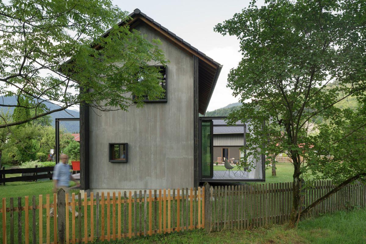 Holzhaus am Auerbach Back
