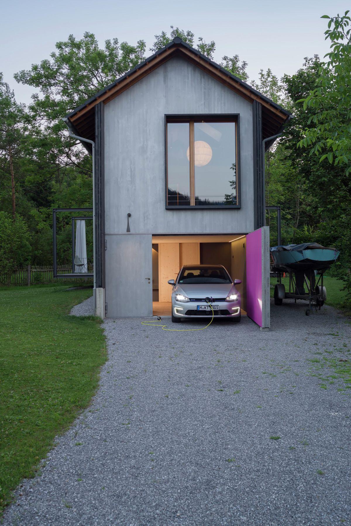 Holzhaus am Auerbach Garage