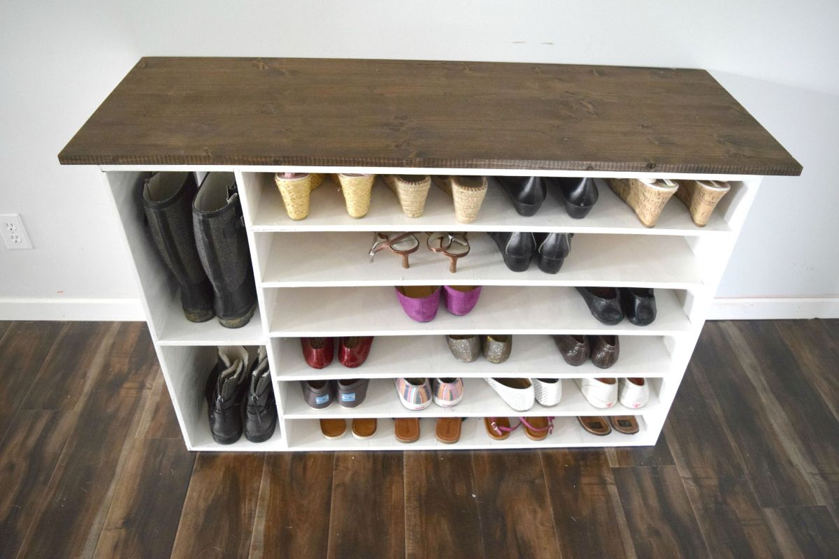 How To Build A Shoe Rack Part 11