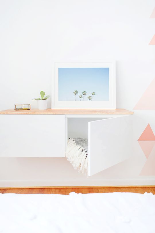 Ikea floating credenza