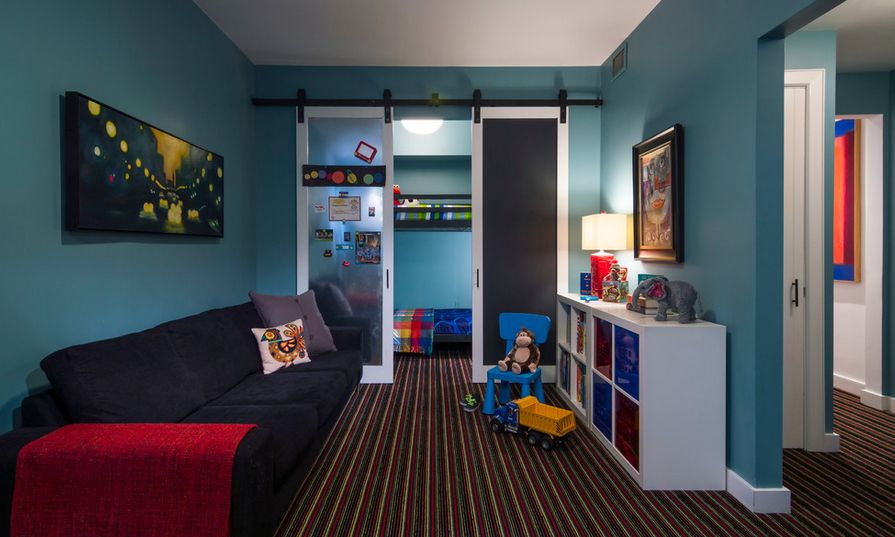 Kids Bedroom Door 50 ways to use interior sliding barn doors in your home