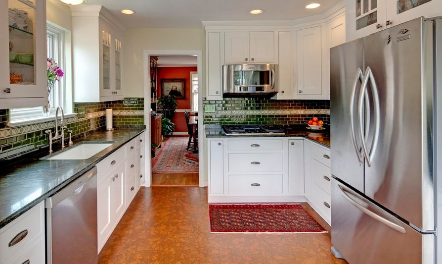 types of kitchen floors choosing the best type of flooring for dogs and their owners 6449