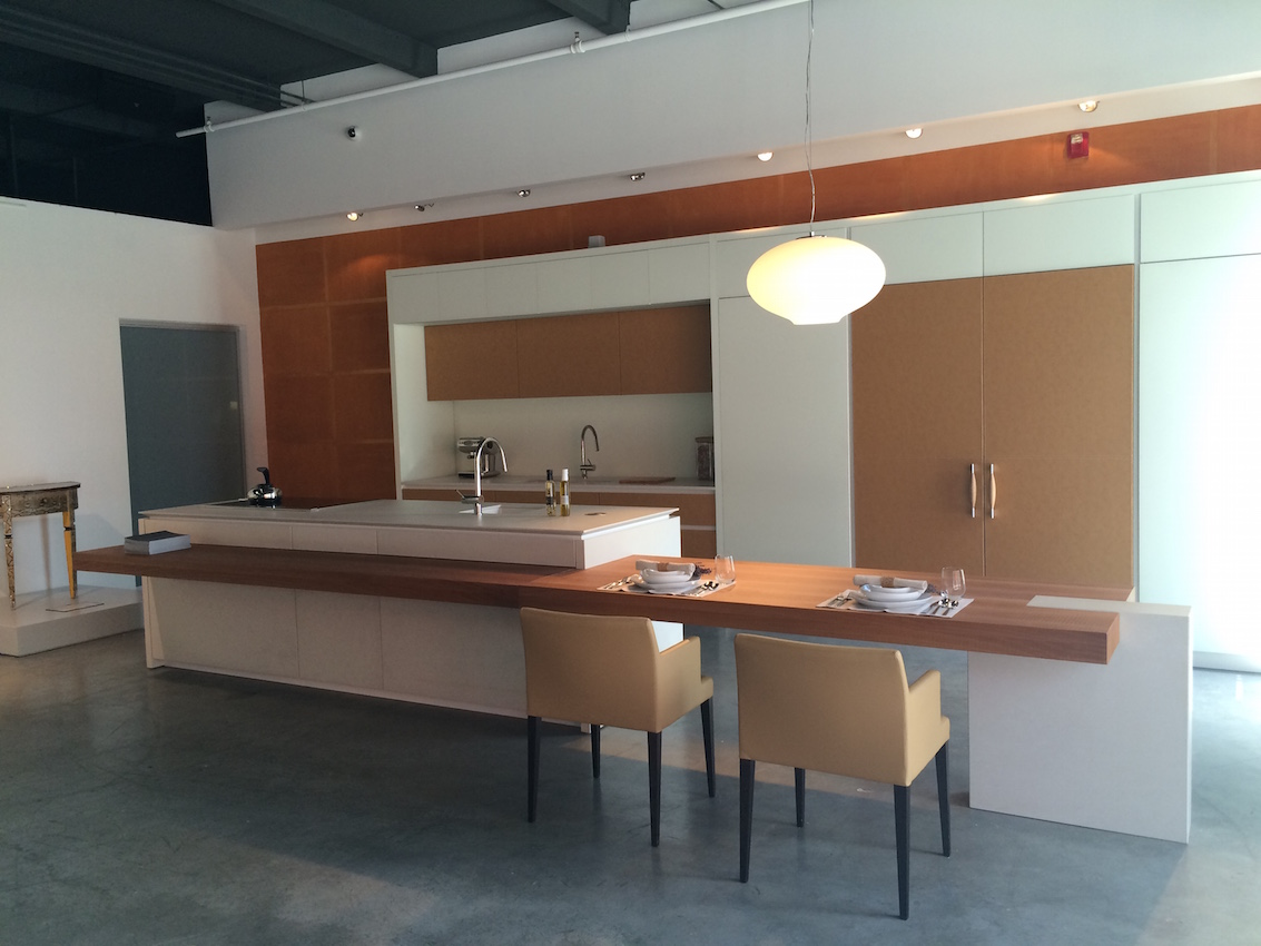 Leather kitchen