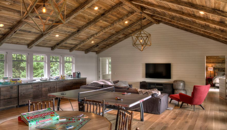Vaulted ceilings a modern twist on classic architecture - Techos de madera rusticos ...