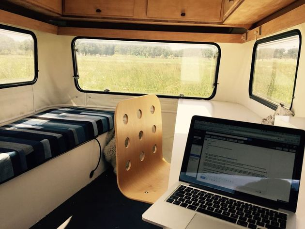Mobile Home Office Design Bed