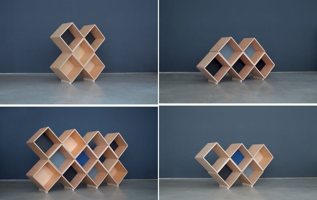 Attractive Modular Furniture System Stackable Decor