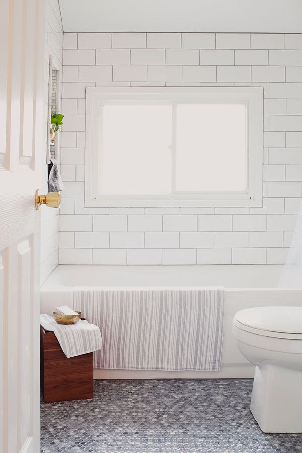 White bathroom tiles Mosaic Bathroom Coventry Bathrooms 30 Penny Tile Designs That Look Like Million Bucks