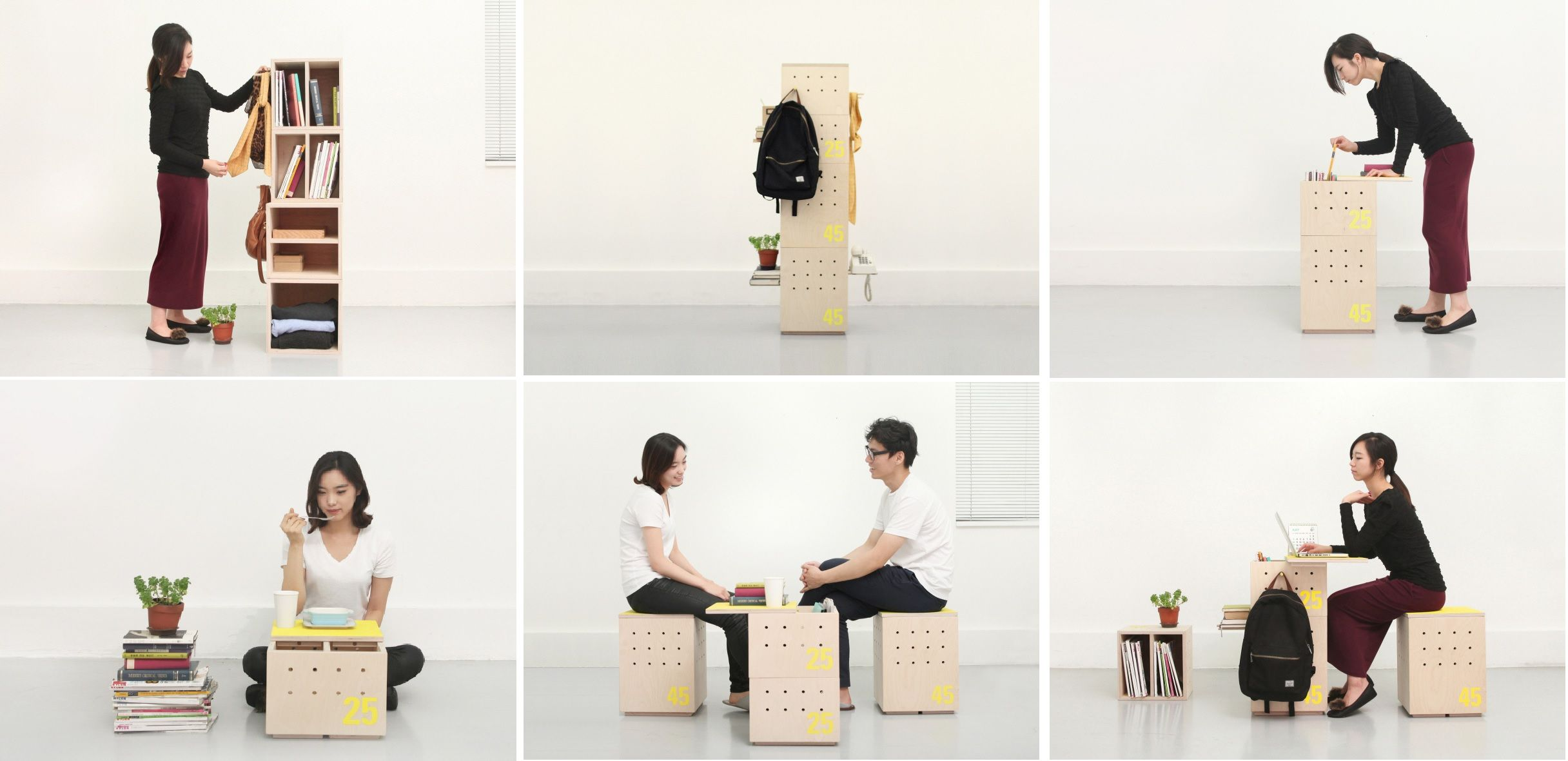 Multifunctional design for small spaces