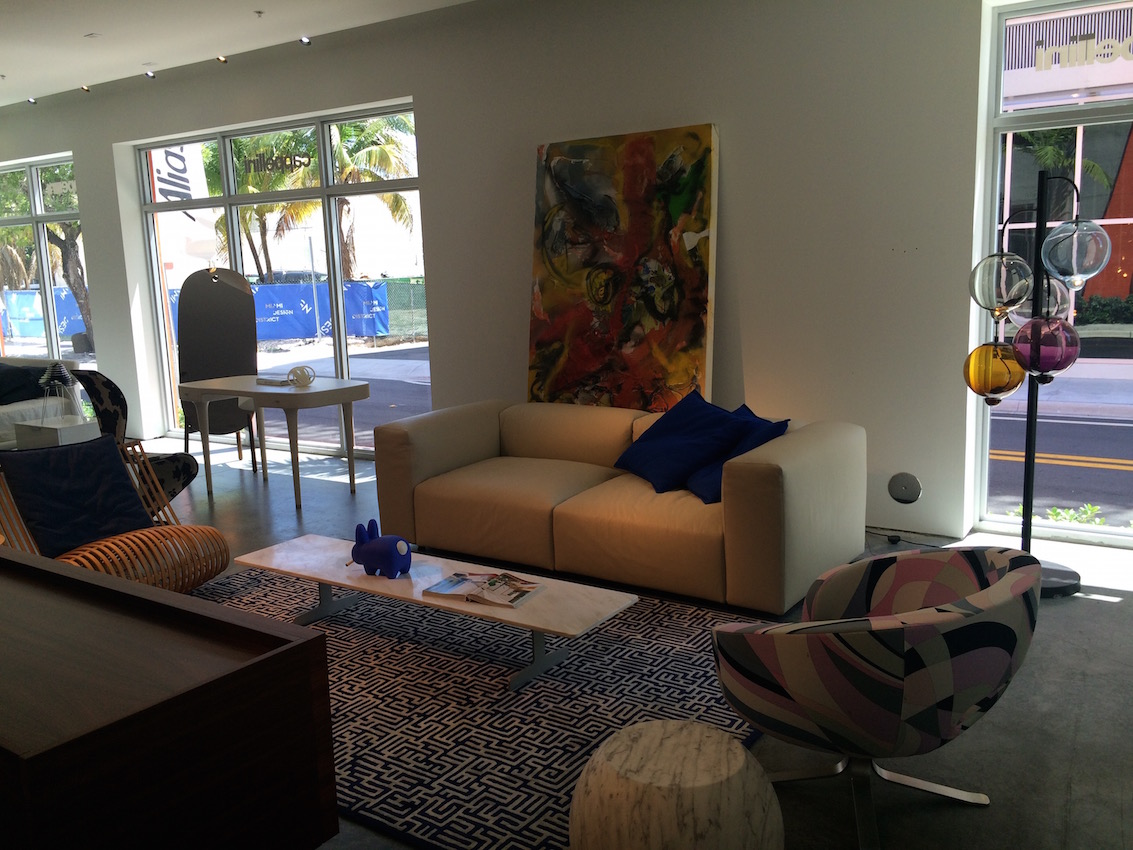 Oblong System Sofa and Rive Droite