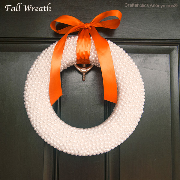 Pearls wreath