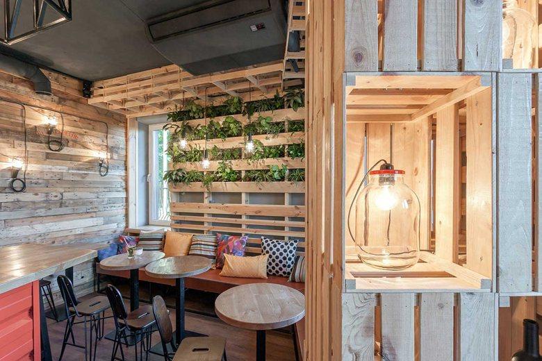 Penka Coffee Bar Small Side Tables