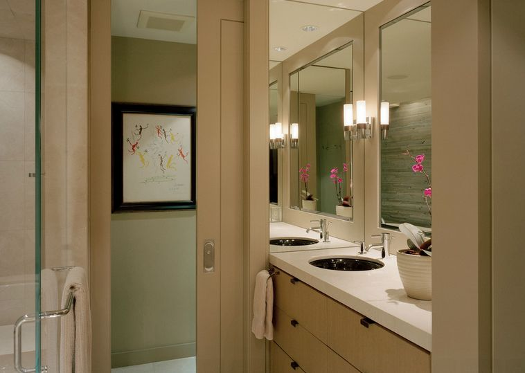 Small Bathroom Pictures your best options when choosing a bathroom door type