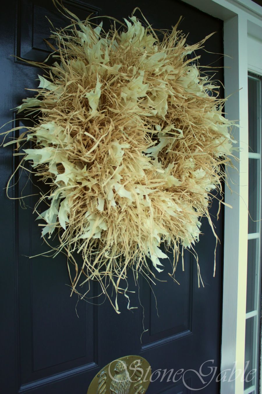 Raffia Wreath