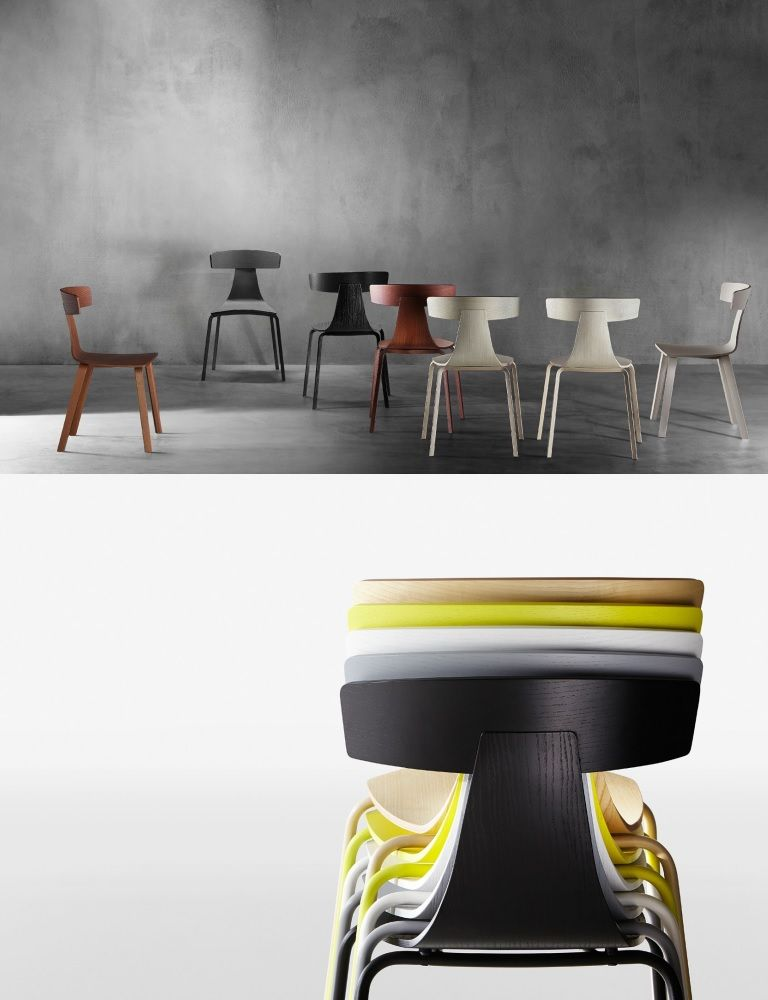 Remo chairs from Konstantin Grcic