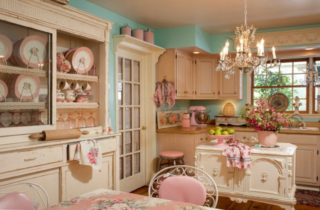 Retro kitchen always in style